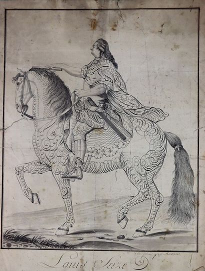 AUVREST (actif à Paris vers 1780-1820).  Louis...