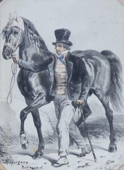 Hippolyte LALAISSE (1812-1884).  Maquignon...