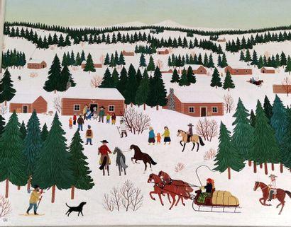 Vincent HADDELSEY (1929/34-2010)  Nativity...