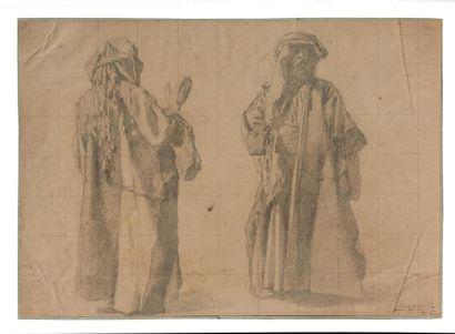 Adrien DAUZATS (1804-1868).  Etude, mise...