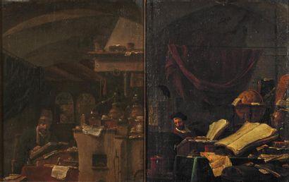 Attribué à Thomas WYCK (vers 1616- 1677)....
