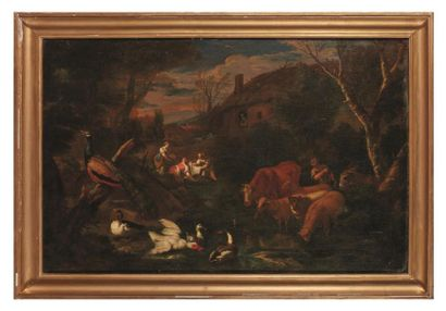 Attribué à Carlo Antonio TAVELLA (1668-1738)...