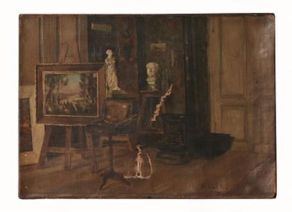 Ecole française de la fin du XIXème siècle,...