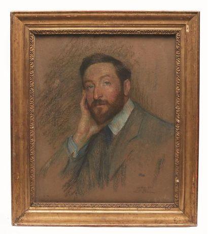 Marie-Louise BRESLAU (1856-1927)  Portrait...