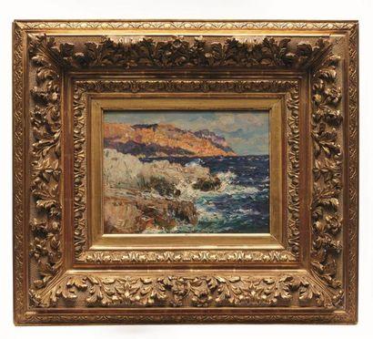 Jean-Baptiste OLIVE (1848-1936)  La côte,...