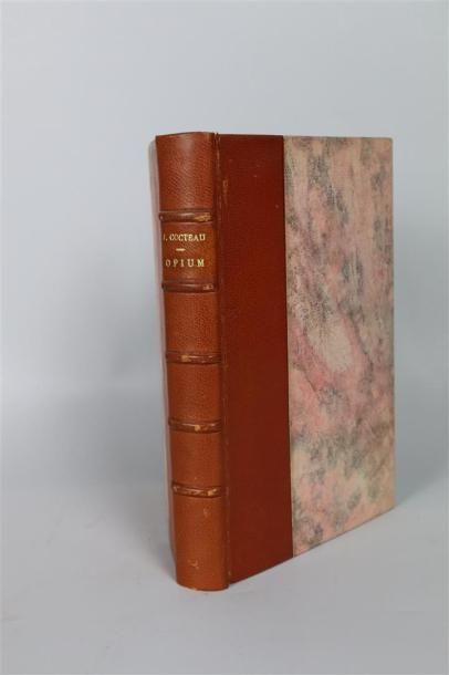 COCTEAU (Jean).  Opium, journal d'une désintoxication....