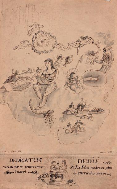 Attribué à Antoine-Jean GROS, dit BARON GROS (Paris 1771 - Meudon 1835)