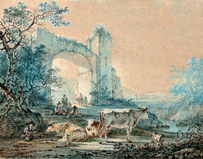 Attribué à Jan Van STRY (Dortrecht 1756-1815)