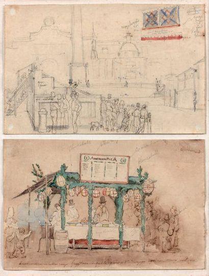 AUGUSTE-XAVIER LEPRINCE (Paris 1799-Nice 1826)