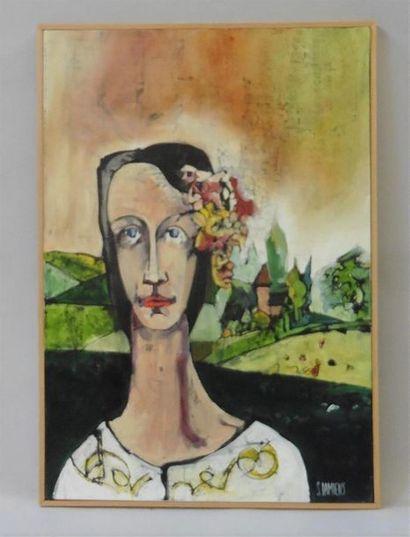 Serge DAMIENS (25 décembre 1954) «Elle revenait...