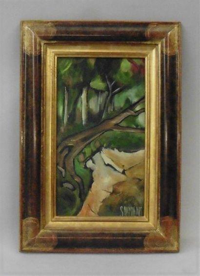 Serge DAMIENS (25 décembre 1954) «L'arbre...