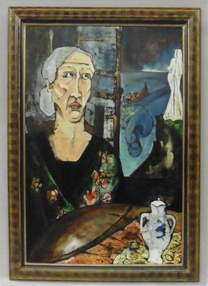 Serge DAMIENS (25 décembre 1954) «La Femme...