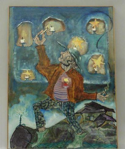 Serge DAMIENS (25 décembre 1954) «Embraser...