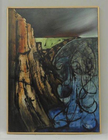 Serge DAMIENS (25 décembre 1954) «Promenade...
