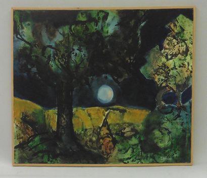 Serge DAMIENS (25 décembre 1954) «Une nuit»...
