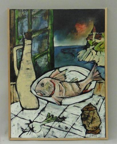 Serge DAMIENS (25 décembre 1954) «Le Plat...