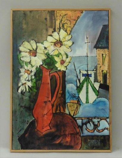 Serge DAMIENS (25 décembre 1954) «La Fenêtre...