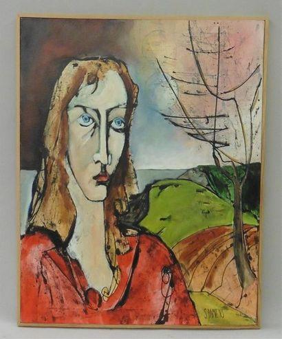 Serge DAMIENS (25 décembre 1954) «Derrière...