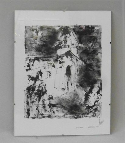 Serge DAMIENS (25 décembre 1954) «Pèlerinage»...