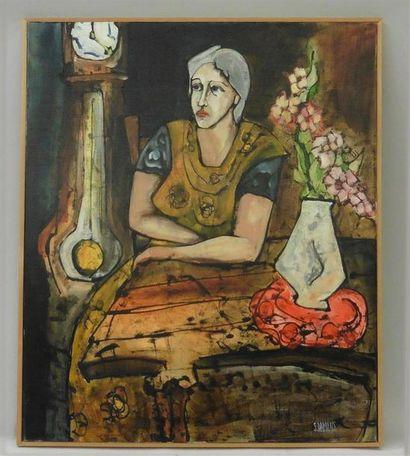 Serge DAMIENS (25 décembre 1954) «Le Temps»...