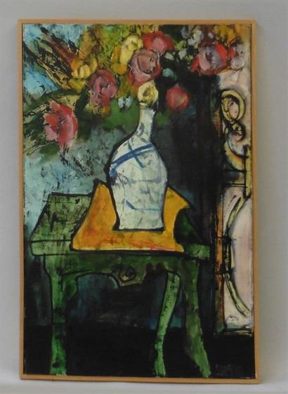 Serge DAMIENS (25 décembre 1954) «Du Jardin»...