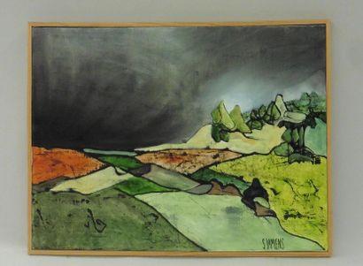 Serge DAMIENS (25 décembre 1954) «Juin 1998»...