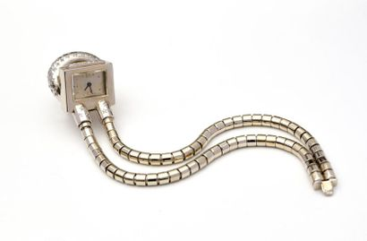 BOUCHERON (dans le goût de) Bracelet montre...