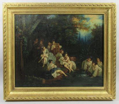 Ecole FRANCAISE de la fin du XVIIIe siècle,...