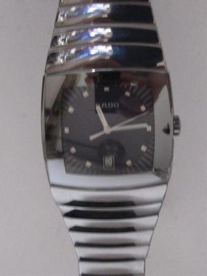 RADO Montre chronographe d'homme en céramique,...
