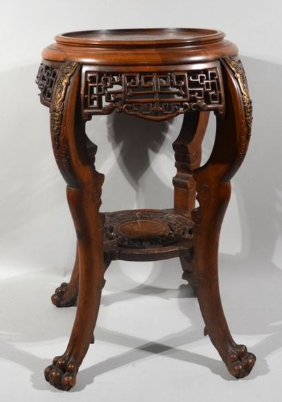Gabriel VIARDOT (1830-1906) Sellette en bois...