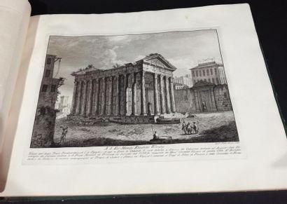 Filippo MORGHEN (1730-1807). Le Antichita...