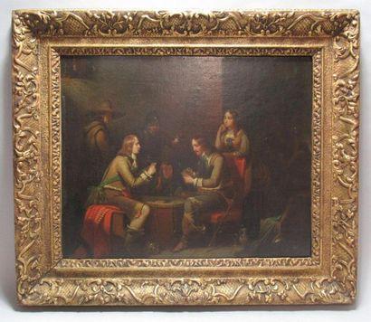 Théodore VALERIO (1819-1879) «Les mousquetaires...