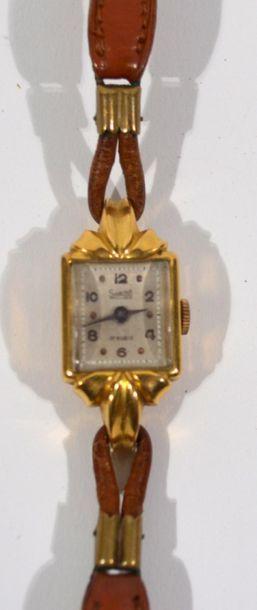 SABINA - Montre bracelet de dame en or jaune...