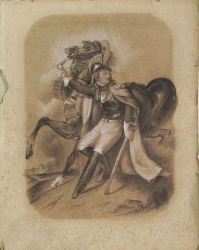 A. BOURDIN (d'après GERICAULT)