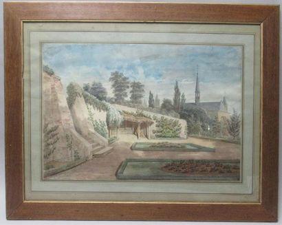 Ecole française XIXe sièce