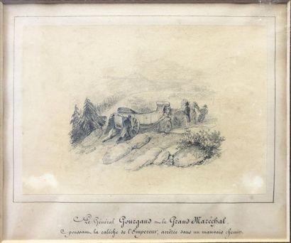 Nicolas Toussaint CHARLET (1792-1854) Reunion...