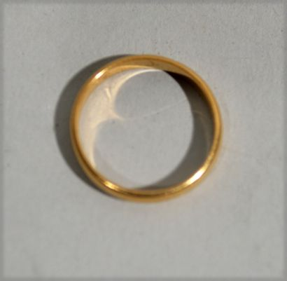ALLIANCE in 18K (750/1000e) yellow gold....