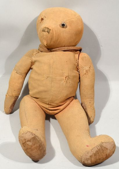 In the taste of STEIFF  Fabric bear with...