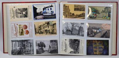 Lot de cartes postales anciennes, semi modernes...