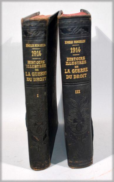 HINZELIN (Emile) - 1914, Histoire illustrée...