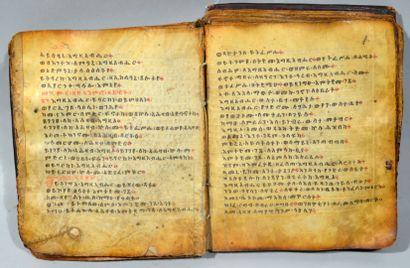 (Religion, Éthiopie) - Manuscrit religieux...