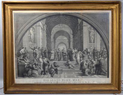Joannes VOLPATO (1733-1803) d'après RAPHAEL...