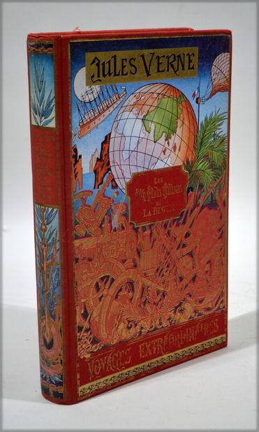 Lot de livres de Jules Verne comprenant :...