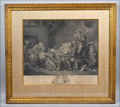 D'après Jean-Baptiste GREUZE (1725-1805),...