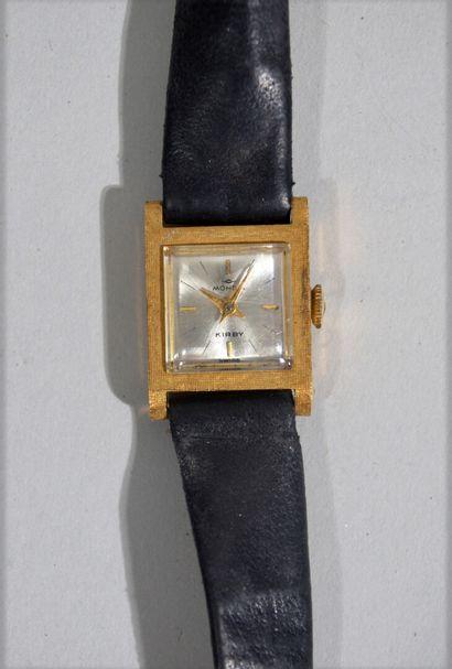 MONDIA KIRBY - Ladies' wristwatch in 18 K...