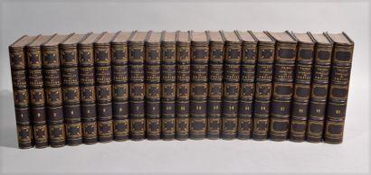 THIERS (Adolphe), Histoire du Consulat et...