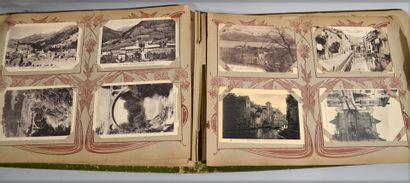 Albums de cartes postales anciennes - Thème...