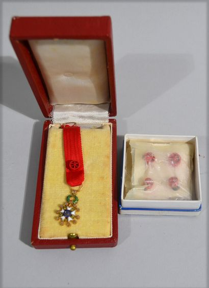 Medal in reduction of the Legion of Honour...