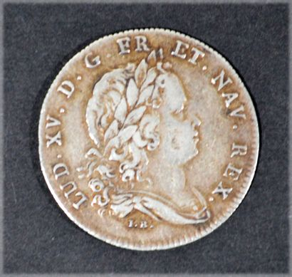 JETON silver of the States of Brittany 1717 Dinan representing the bust 268A of...