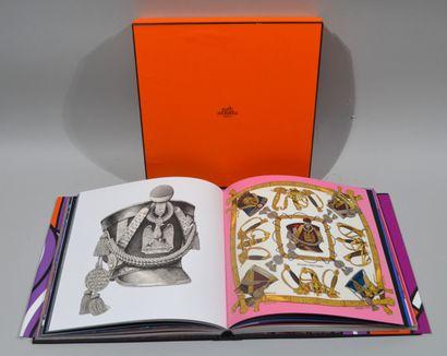 "Nadine Coleno, ""Le Carré Hermès"" Edition du regard 1 vol in 4° binding and dust..."